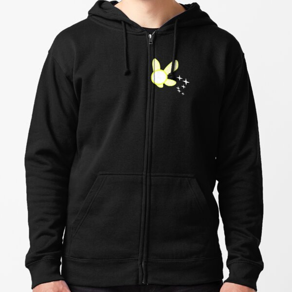 Sparkling Yellow Fairy Zipped Hoodie