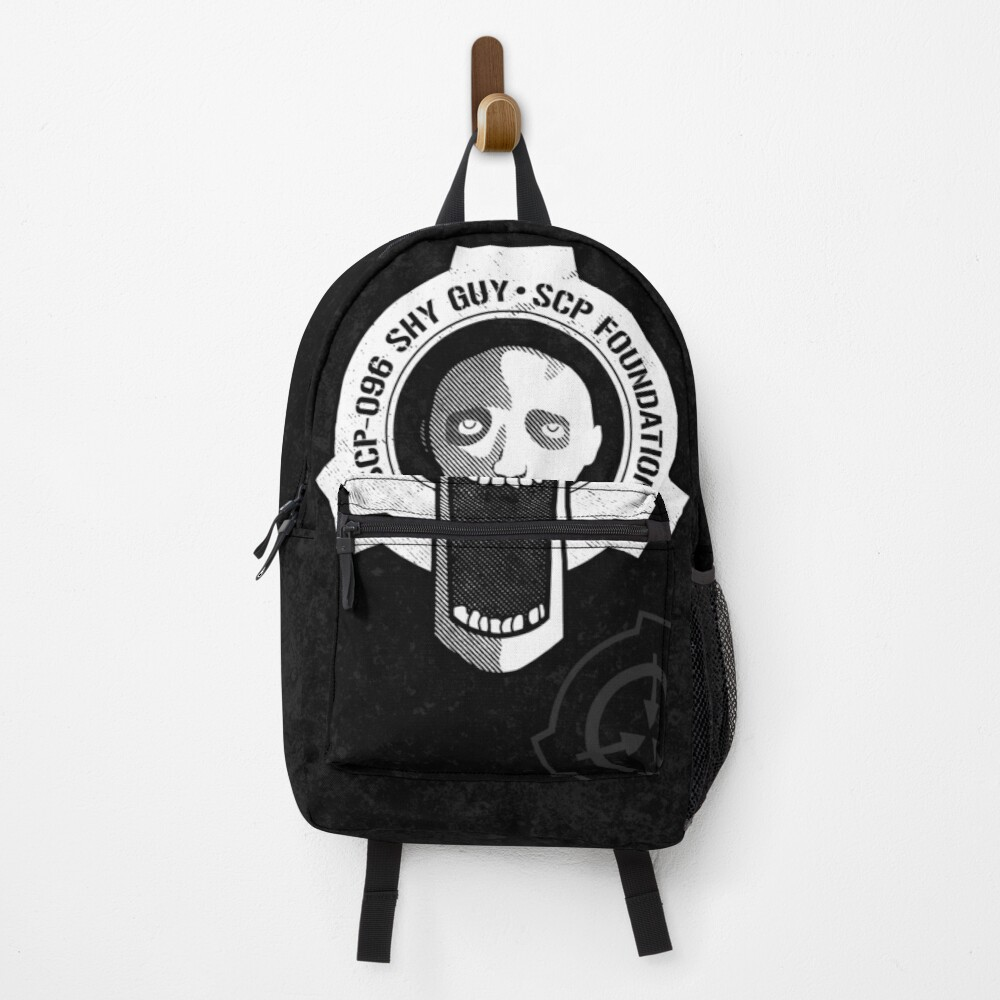 SCP-096 Shy Guy SCP Foundation Backpack