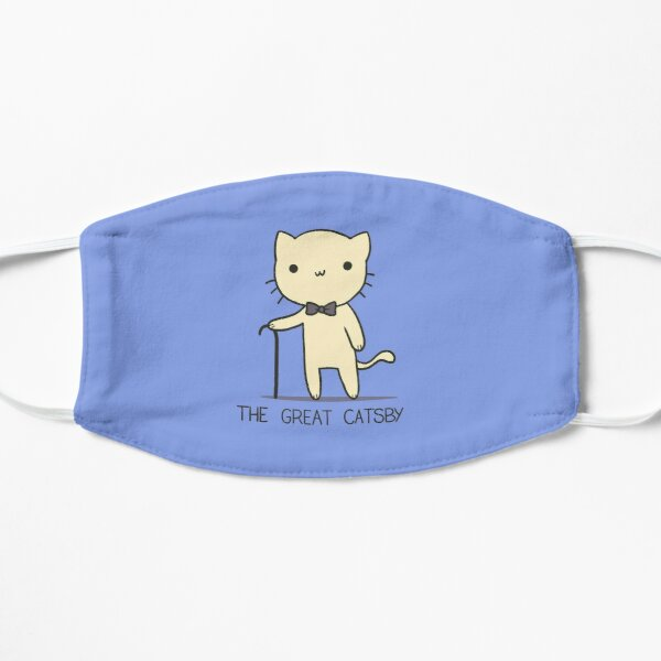 The Great Catsby Flat Mask