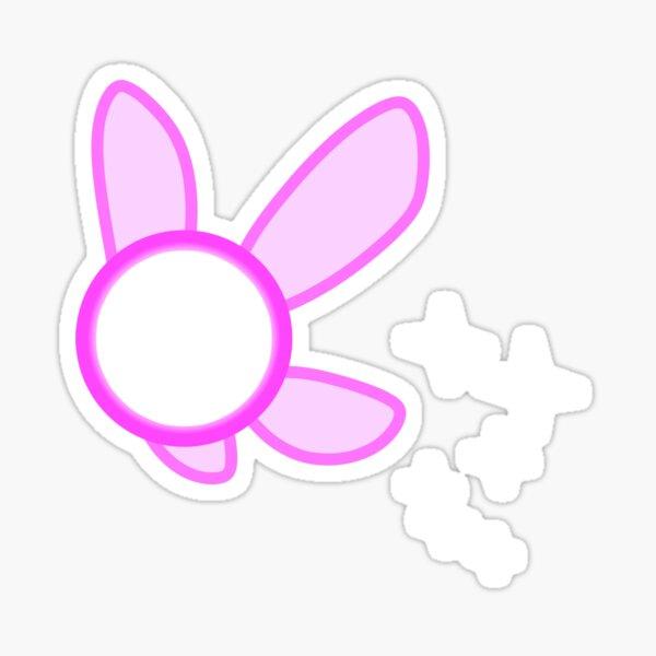 Sparkling Pink Fairy Sticker