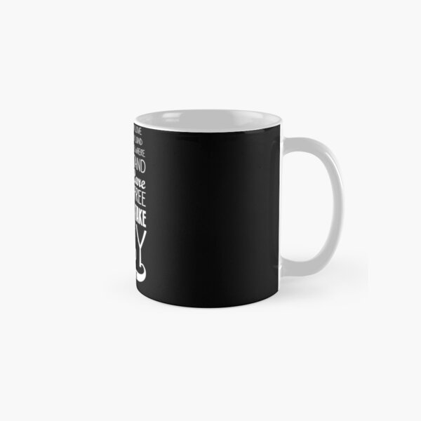 Firefly Theme song quote (white version) Classic Mug