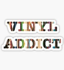 Vinyl Addict Sticker