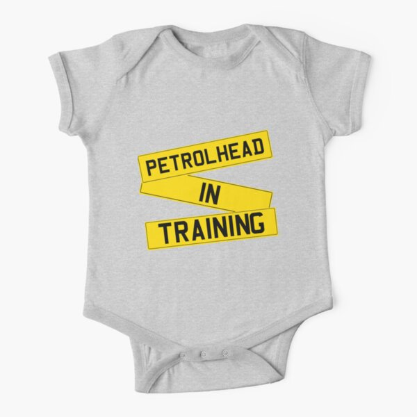 Petrolhead Babygrow in Black motorsport rally stock car NEW When I Grow Up .