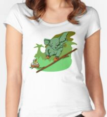 Backslide no-BG Women's Fitted Scoop T-Shirt