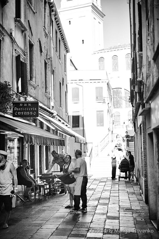 Little Street - Venice by Andrew & Mariya  Rovenko