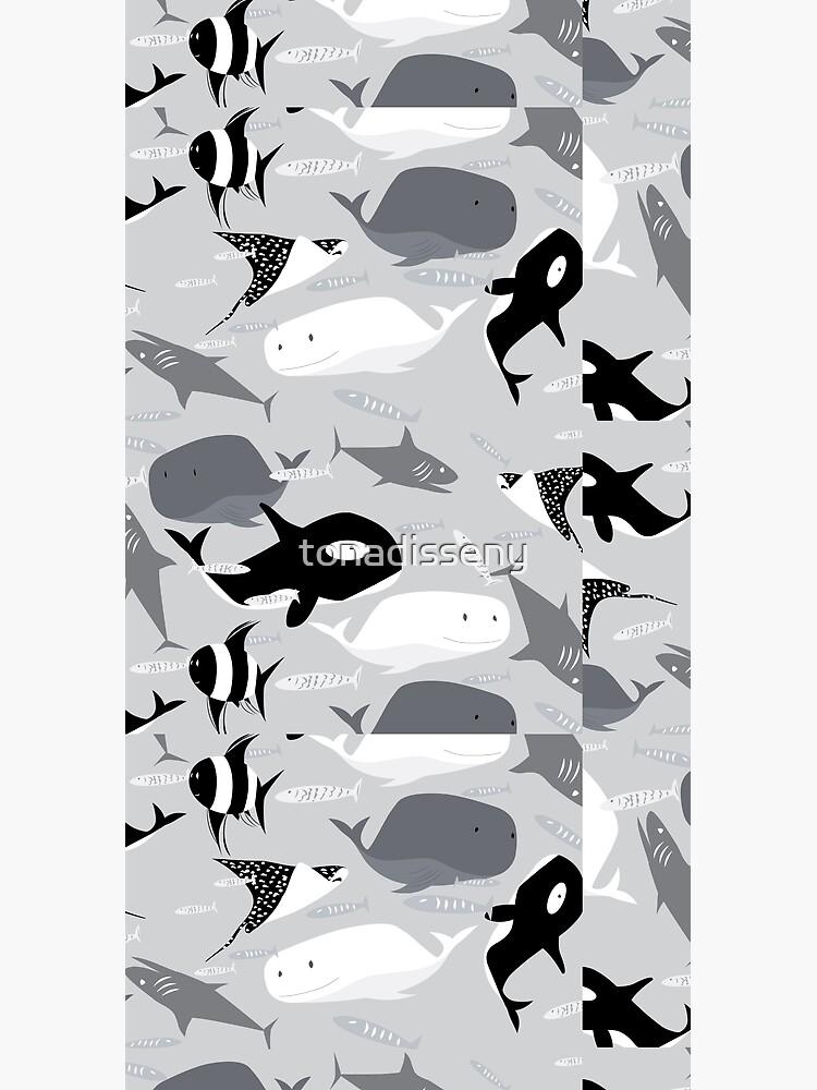 ocean creatures by tonadisseny