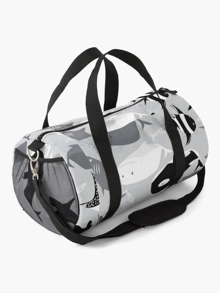 Alternate view of ocean creatures Duffle Bag