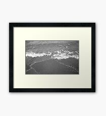 Beach Abstract III Framed Print