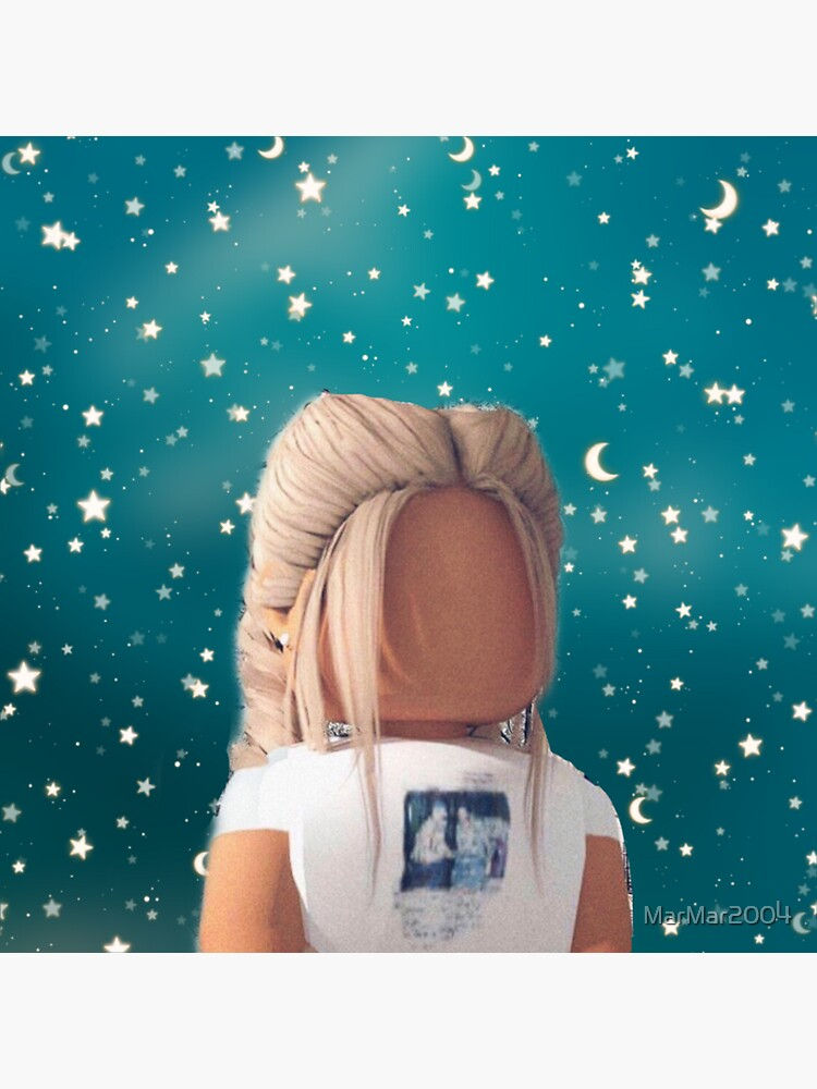 """Cute Roblox Girl "" Sticker by MarMar2004 | Redbubble"