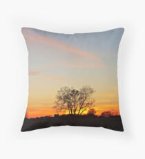 Lonesome Plains Throw Pillow