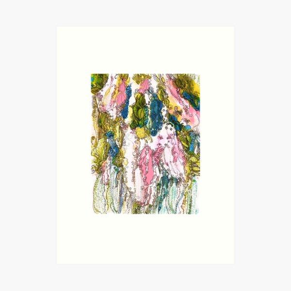 Bird Cherry Blossom Art Print