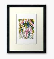 Bird Cherry Blossom Framed Print