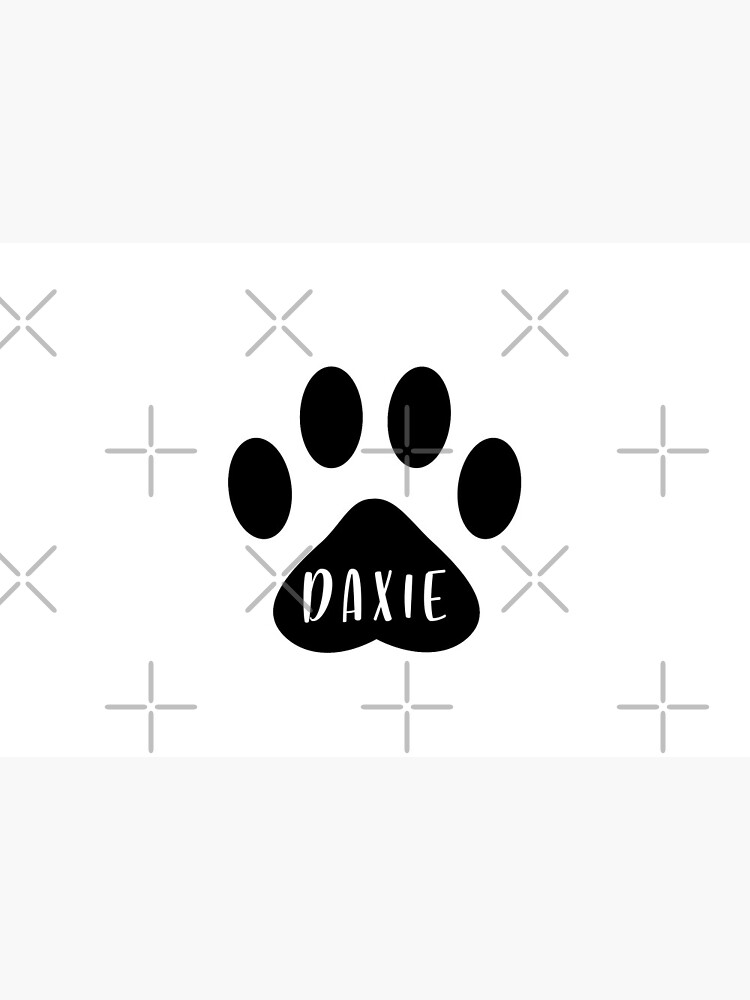 Daxie Paw Print Seal by chanzds