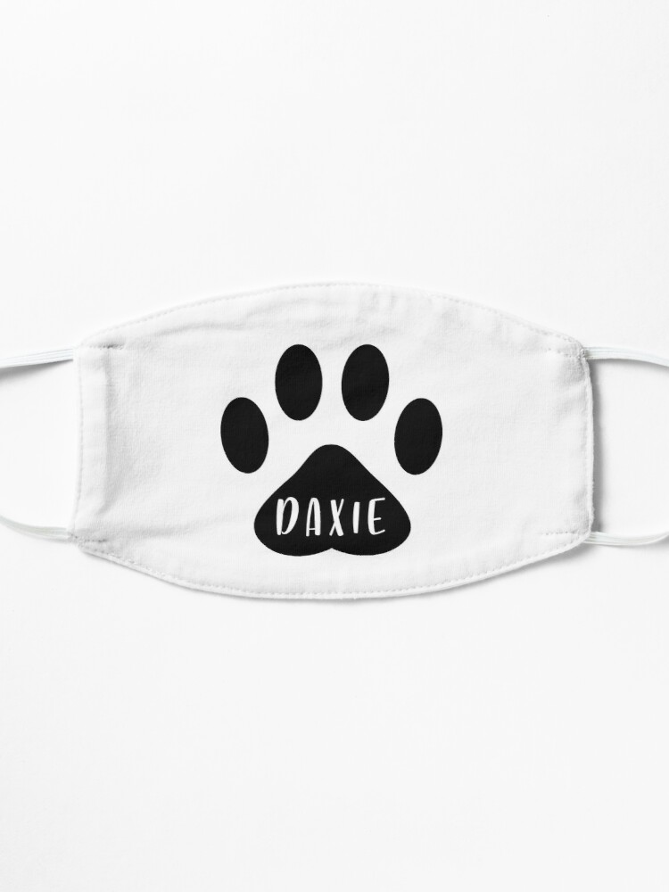 Alternate view of Daxie Paw Print Seal Mask