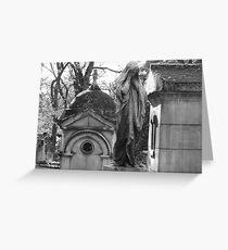 Paris Cemetary Greeting Card