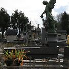 Paris Cemetary 2 by Karen Carlisle