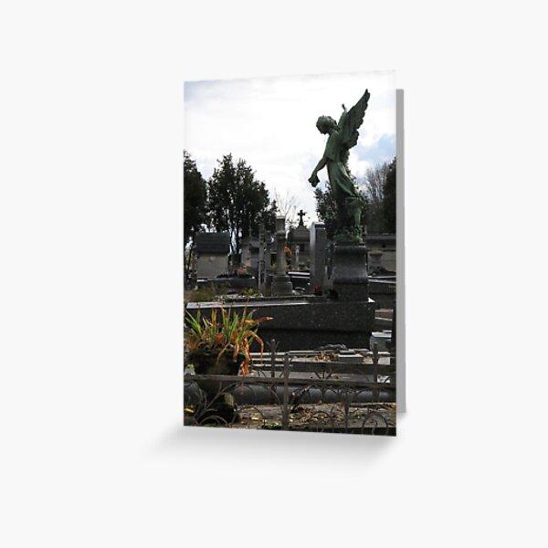 Paris Cemetary 2 Greeting Card