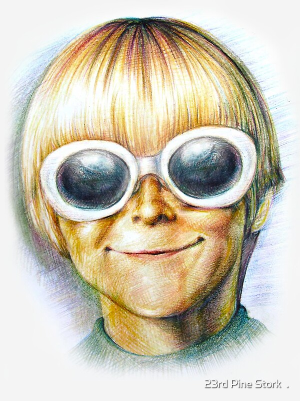 Teenage Spirit - Third grader Kurt Cobain/Nirvana illustration ...