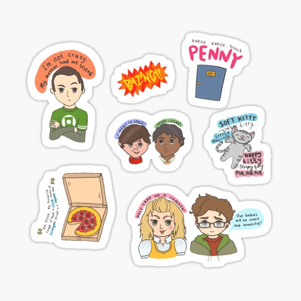 The Big Bang Theory Sticker Pack Sticker