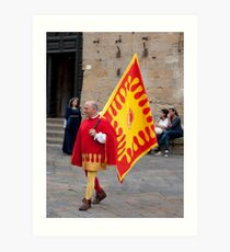 Volterra Colors Art Print