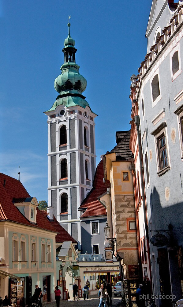 St. Jost Church Tower by phil decocco
