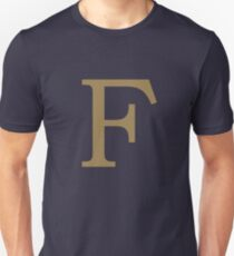 Weasley Sweater - F (All letters available!) Unisex T-Shirt