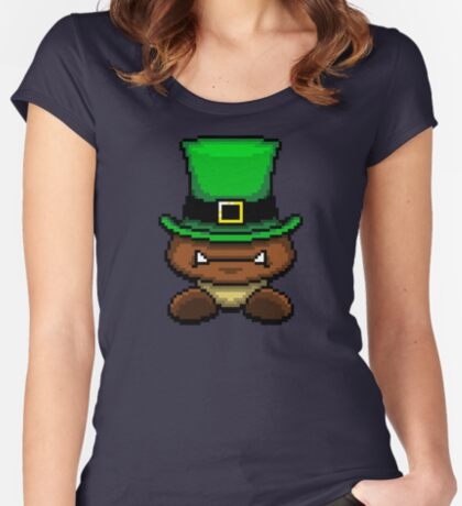 IRISH GOOMBA Women's Fitted Scoop T-Shirt