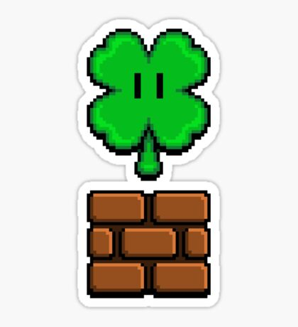 CLOVER POWERUP Sticker