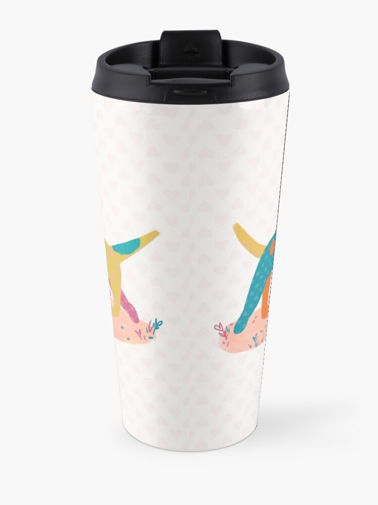 Alternate view of Paper Dogs Travel Mug