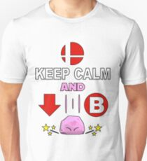Kirby Stone : Smash Bros SSB4 T-Shirt