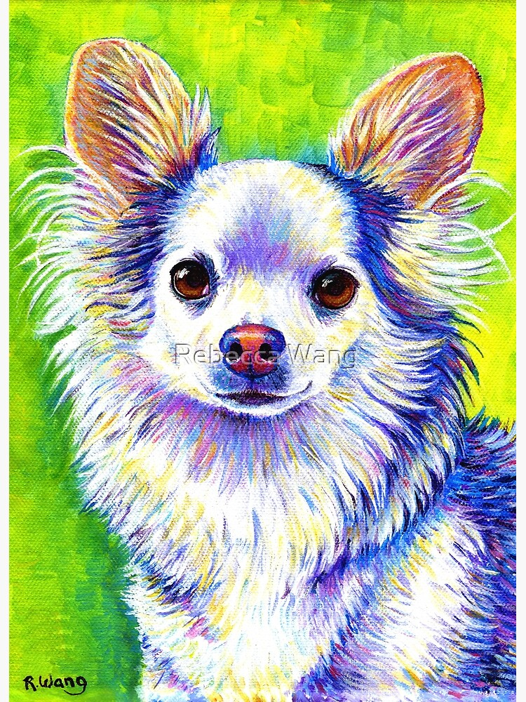 Colorful Cute Chihuahua Dog by lioncrusher