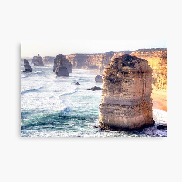 The Edge of Australia. Canvas Print