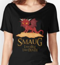 Smaug The Dragon Women's Relaxed Fit T-Shirt