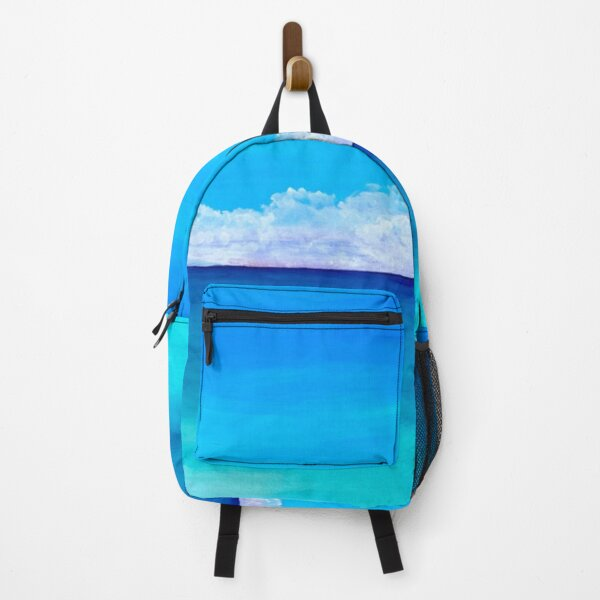Clouds on the ocean Backpack