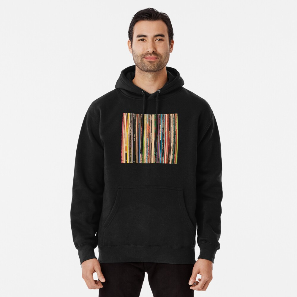 Classic Alternative Rock Records Pullover Hoodie