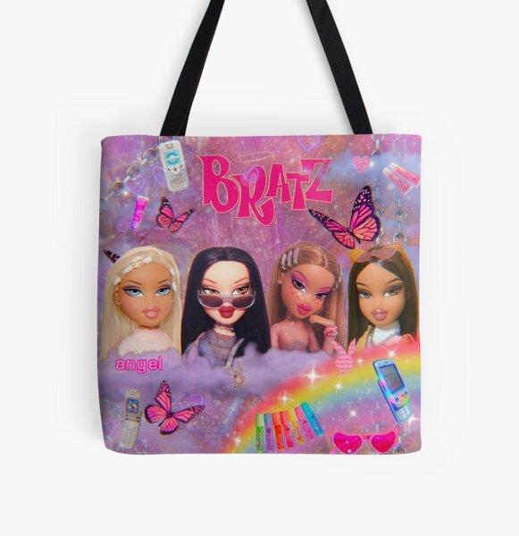 y2k Bratz Collage All Over Print Tote Bag
