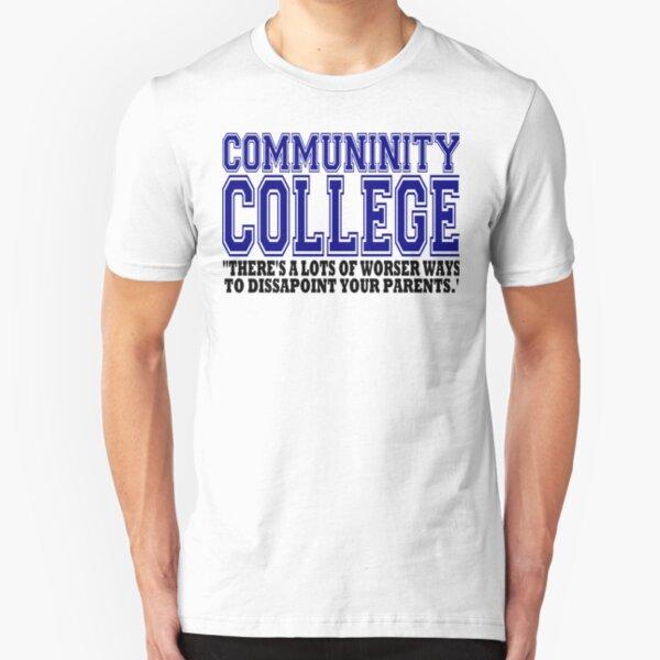 Community College  Slim Fit T-Shirt