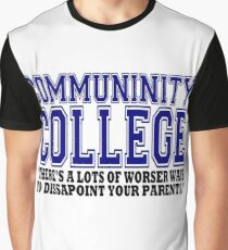 Community College  Graphic T-Shirt