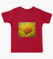 Macro Sunflower Kids Tee