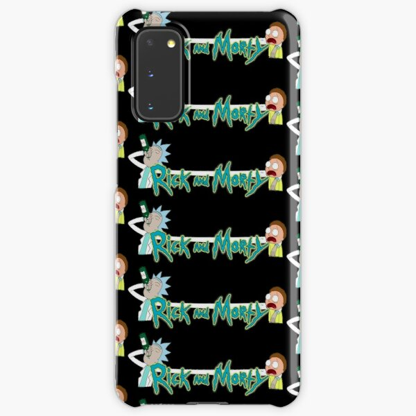 Rick and Morty - Very Cool Digital Illustration Samsung Galaxy Snap Case