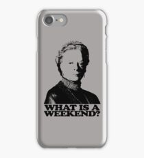 Downton Abbey What Is A Weekend Tshirt iPhone Case/Skin