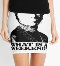 Downton Abbey What Is A Weekend Tshirt Mini Skirt
