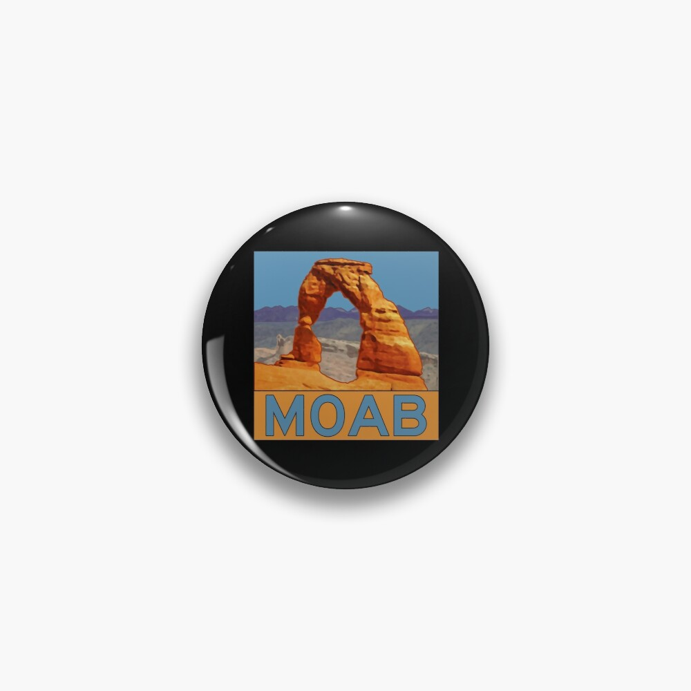 Moab Utah - Arches National Park - Delicate Arch Pin