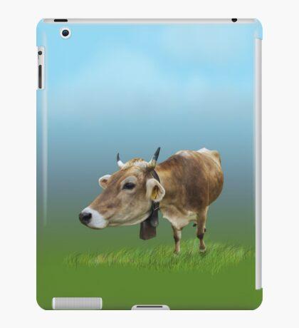 Milk cow in the field VRS2 iPad Case/Skin