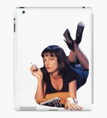 Pulp Fiction Mia Wallace iPad Case/Skin
