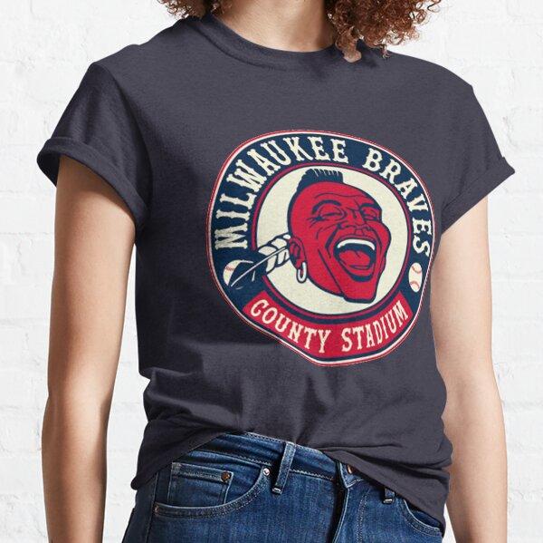 Defunct - Vintage Milwaukee Braves Classic T-Shirt