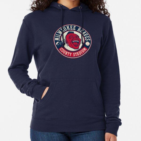 Defunct - Vintage Milwaukee Braves Lightweight Hoodie