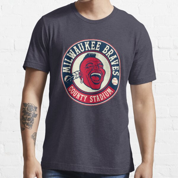 Defunct - Vintage Milwaukee Braves Essential T-Shirt