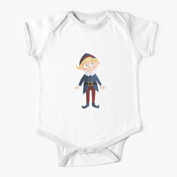 Hermey the Elf Short Sleeve Baby One-Piece