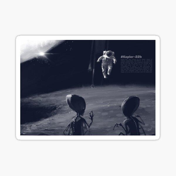 Ufo aliens  Sticker